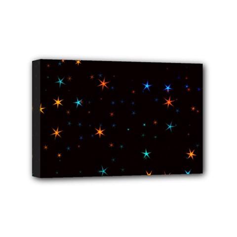 Awesome Allover Stars 02e Mini Canvas 6  X 4