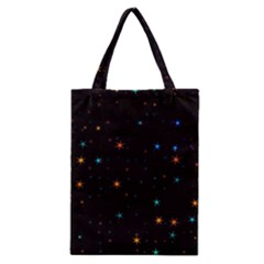 Awesome Allover Stars 02e Classic Tote Bag