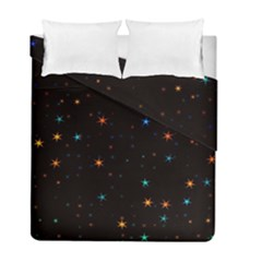 Awesome Allover Stars 02e Duvet Cover Double Side (Full/ Double Size)