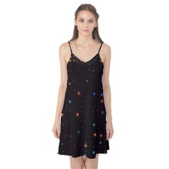 Awesome Allover Stars 02e Camis Nightgown