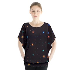 Awesome Allover Stars 02e Blouse