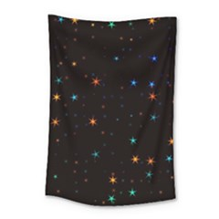 Awesome Allover Stars 02e Small Tapestry