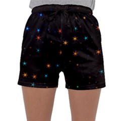 Awesome Allover Stars 02e Sleepwear Shorts
