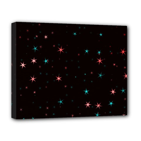 Awesome Allover Stars 02f Deluxe Canvas 20  x 16