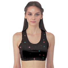 Awesome Allover Stars 02f Sports Bra