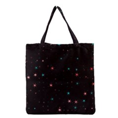 Awesome Allover Stars 02f Grocery Tote Bag