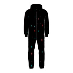 Awesome Allover Stars 02f Hooded Jumpsuit (Kids)