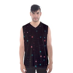 Awesome Allover Stars 02f Men s Basketball Tank Top