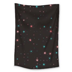 Awesome Allover Stars 02f Large Tapestry
