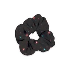 Awesome Allover Stars 02f Velvet Scrunchie