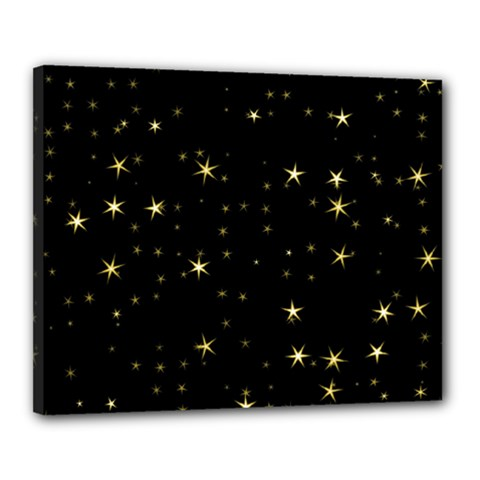 Awesome Allover Stars 02a Canvas 20  x 16