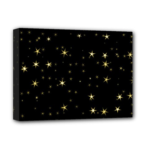 Awesome Allover Stars 02a Deluxe Canvas 16  x 12