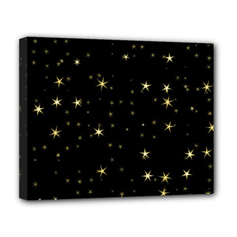 Awesome Allover Stars 02a Deluxe Canvas 20  x 16