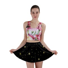 Awesome Allover Stars 02a Mini Skirt