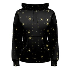 Awesome Allover Stars 02a Women s Pullover Hoodie