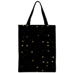 Awesome Allover Stars 02a Zipper Classic Tote Bag