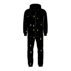 Awesome Allover Stars 02a Hooded Jumpsuit (Kids)