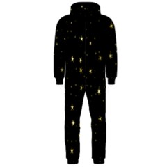 Awesome Allover Stars 02a Hooded Jumpsuit (Men)