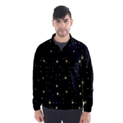 Awesome Allover Stars 02a Wind Breaker (Men)