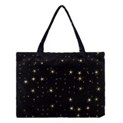 Awesome Allover Stars 02a Medium Tote Bag