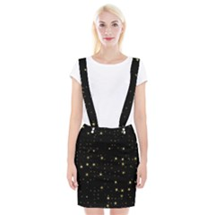 Awesome Allover Stars 02a Braces Suspender Skirt
