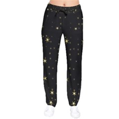 Awesome Allover Stars 02a Drawstring Pants