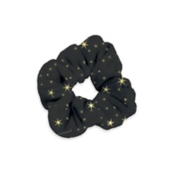 Awesome Allover Stars 02a Velvet Scrunchie