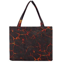 Volcanic Textures Mini Tote Bag