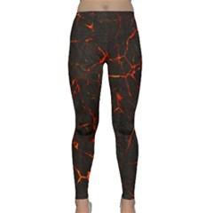 Volcanic Textures Classic Yoga Leggings