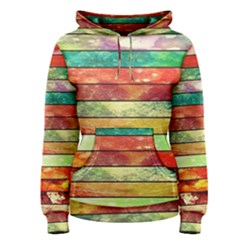 Stripes Color Oil Women s Pullover Hoodie