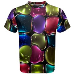 Stained Glass Men s Cotton Tee