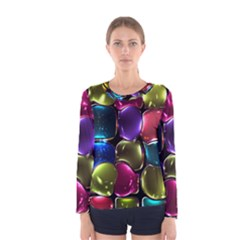 Stained Glass Women s Long Sleeve Tee