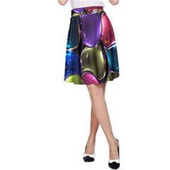 Stained Glass A-Line Skirt