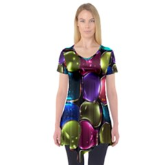 Stained Glass Short Sleeve Tunic