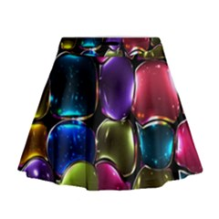 Stained Glass Mini Flare Skirt