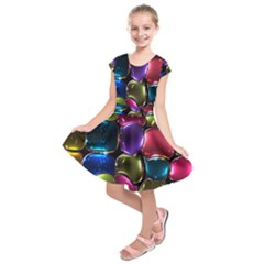Stained Glass Kids  Short Sleeve Dress