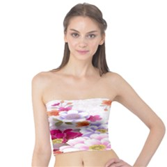 Sweet Flowers Tube Top