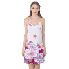 Sweet Flowers Camis Nightgown