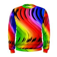 Colorful Vertical Lines Men s Sweatshirt