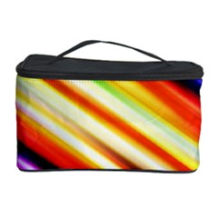 Funky Color Lines Cosmetic Storage Case