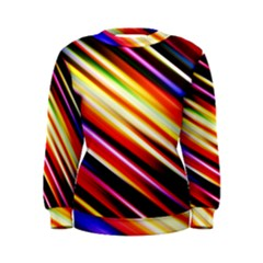 Funky Color Lines Women s Sweatshirt