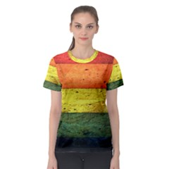 Five Wall Colour Women s Sport Mesh Tee