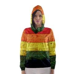 Five Wall Colour Hooded Wind Breaker (Women)