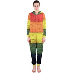 Five Wall Colour Hooded Jumpsuit (ladies)