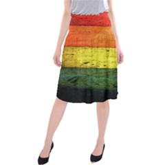 Five Wall Colour Midi Beach Skirt