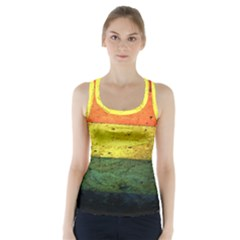 Five Wall Colour Racer Back Sports Top