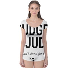 Judge judy wouldn t stand for this! Boyleg Leotard