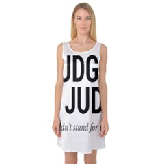 Judge judy wouldn t stand for this! Sleeveless Satin Nightdress