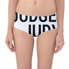 Judge Judy Wouldn t Stand For This! Mid Waist Bikini Bottoms