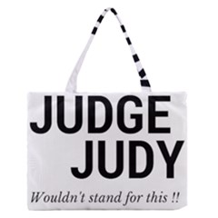 Judge judy wouldn t stand for this! Medium Zipper Tote Bag